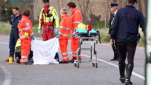Sul posto ambulanze e carabinieri per i rilievi