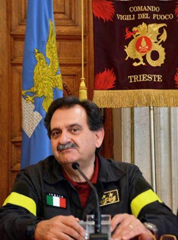 Giuseppe Romano, vincitore del Premio Speciale Protezione civile (Premio Rotondi 2017)