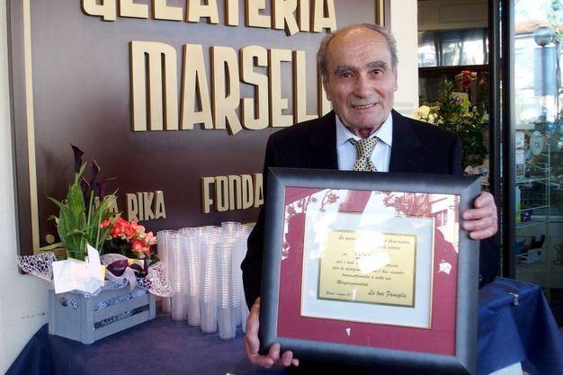 I 70 anni di attività della Gelateria Marselli (foto Pasquale Bove)