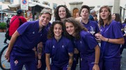 La Fiorentina Women's festeggia lo scudetto