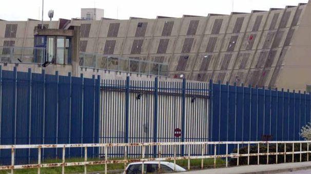 Un'immagine del carcere di Sollicciano (New Press Photo)