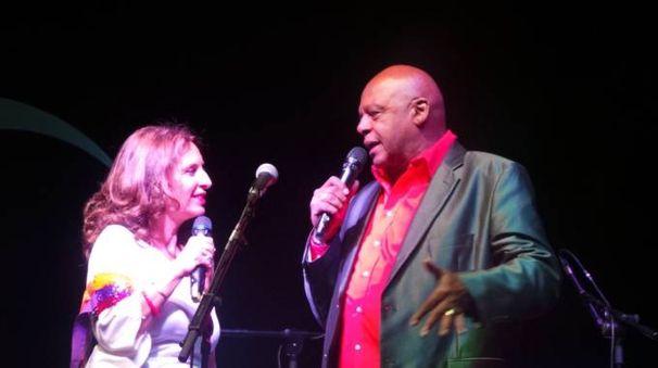 Cristina Tassinari e Ronnie Jones