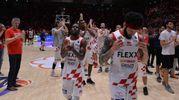 Basket, playoff: Pistoia perde gara-4 con Venezia ed è fuori, ma esce tra gli applausi (foto Luca Castellani)