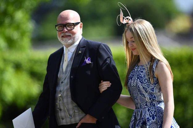 Lo zio della sposa Gary Goldsmith (Afp)