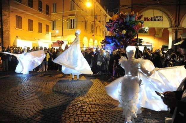 Notte bianca a Modena (Foto Fiocchi)