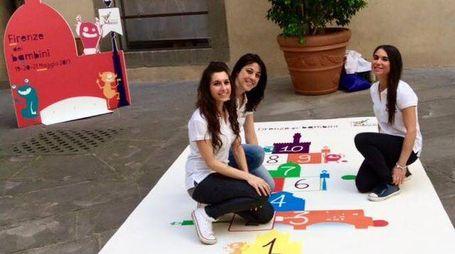 Giochi con Menarini in Palazzo Vecchio