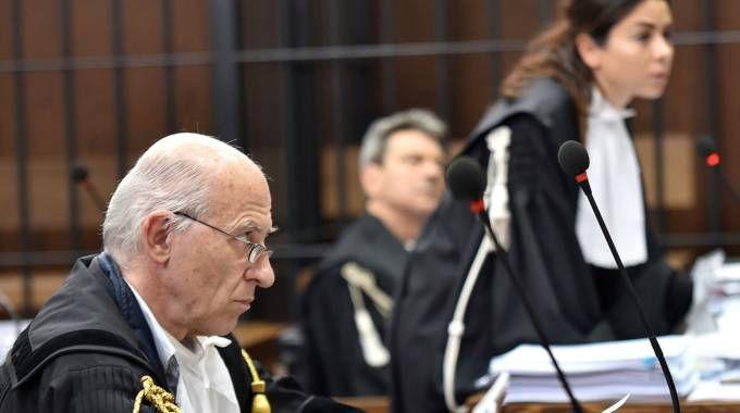 L'udienza in tribunale