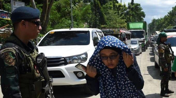 Marawi city, legge marziale (Afp)