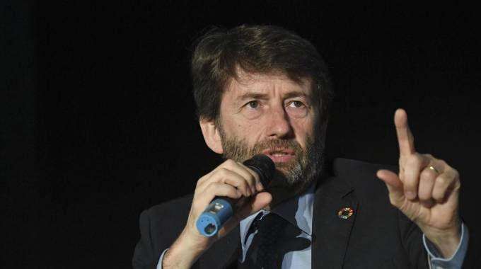 Il ministro dei beni culturali Dario Franceschini (Ansa)