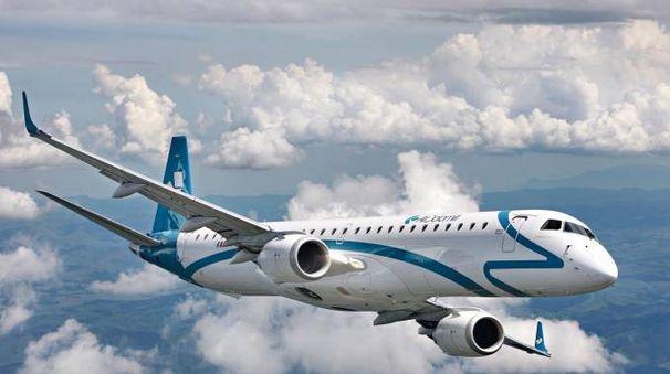 Un aereo di Air Dolomiti