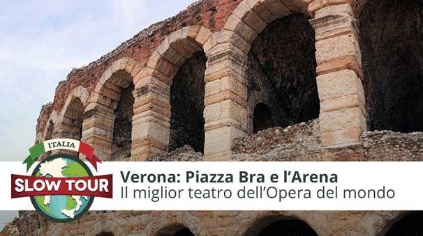 Verona: Piazza Bra e l'Arena