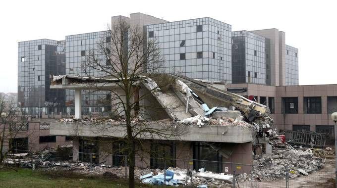 Entro breve partiranno altri lavori di demolizione di alcune parti del Palazzo degli Specchi
