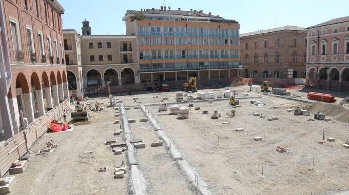 Un'immagine dell'attuale piazza della Libertà