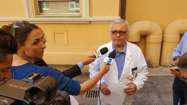 Il dott. Fabio Santelli, direttore della Sod di Anestesia e Rianimazione Pediatrica del Salesi (Foto Emma)