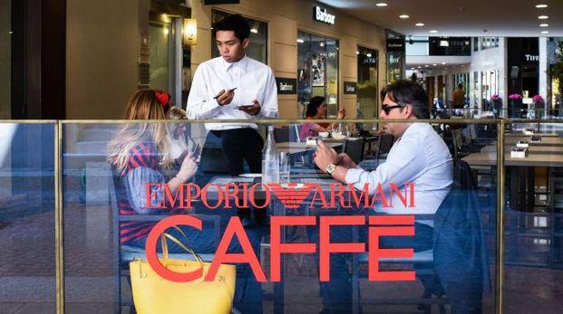 Il caffé e ristorante firmato Armani in galleria Cavour