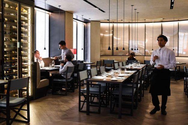 Il bar e ristorante firmato Armani è in Galleria Cavour (foto Schicchi)