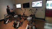 Biciclette interattive (foto Schicchi)