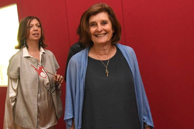 Silvia Evangelisti con Cecilia Ghelfi Zoboli (foto Schicchi)