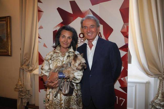 Cristina e Paolo Borgomanero (foto Schicchi)