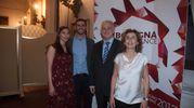 Giorgio Giatti con la famiglia (foto Schicchi)