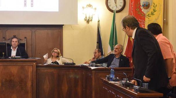 POLEMICHE Il presidente Angelini e Ivo Costamagna (foto De Marco)