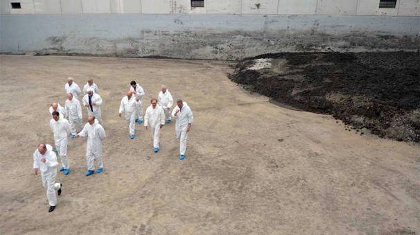 L'impianto di trattamento fanghi di Meleti (Gazzola)