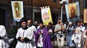 Nel corteo anche alcuni rappresentanti di associazioni pro life (foto Artioli)