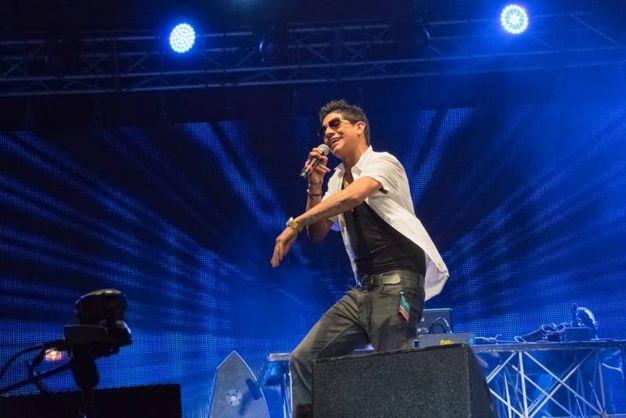 Jsp sul palco del lungomare di Porto garibaldi