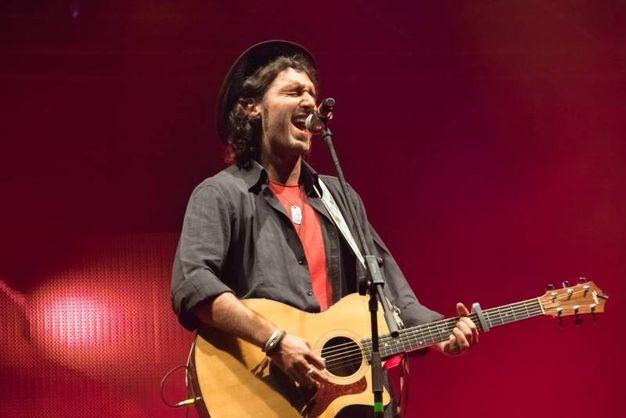 Lelio Morra sul palco del Comacchio Beach Festival