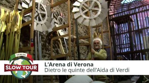 L'Arena di Verona: dietro le quinte