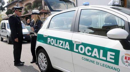 La polizia locale di Legnano