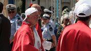 La cerimonia di beatificazione (Frascatore)