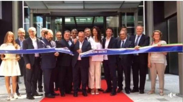 Inugurazione Polo dell'Innovazione digitale (Frame video Facebook)