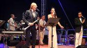 Moreno Il Biondo si esibisce alla Notte del liscio (foto Ravaglia)