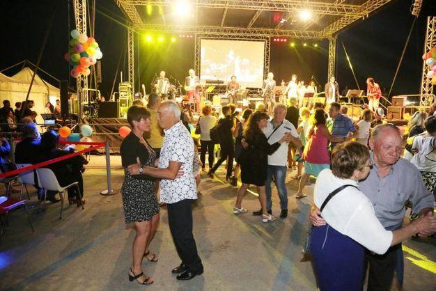 Balli alla Notte del liscio (foto Ravaglia)