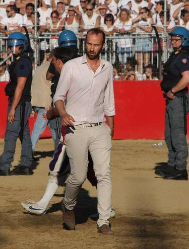 L'assessore Vannucci (Marco Mori / New Press Photo)
