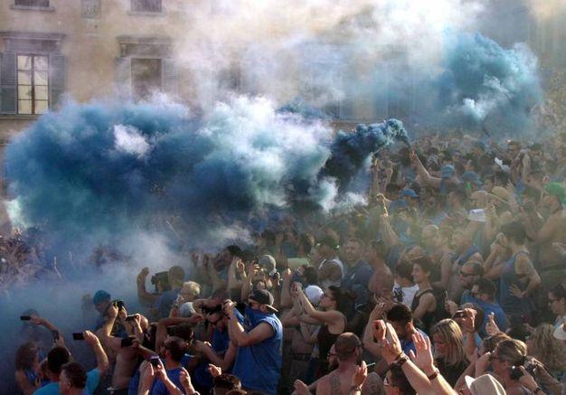 Gli azzurri (New Press Photo)