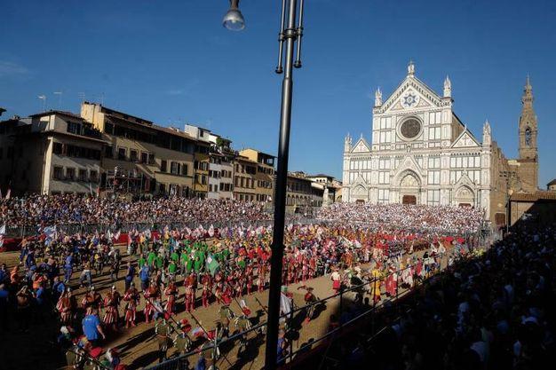 Una panoramica della piazza (Giuseppe Cabras / New Press Photo)