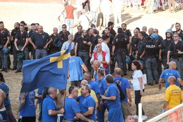 Gli azzurri (Giuseppe Cabras /New Press Photo)