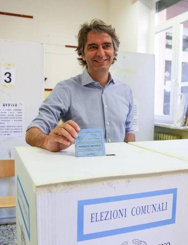 Verona, Federico Sboarina, candidato sindaco per il centrodestra (Ansa)
