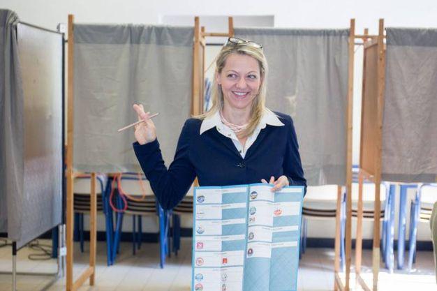 Parma, la candidata sindaco Cavandoli (Lapresse)