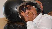 Grillo e moglie (LaPresse)