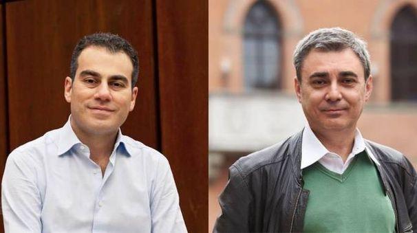 Giulio Pierini (a sinistra) e Maurizio Mazzanti