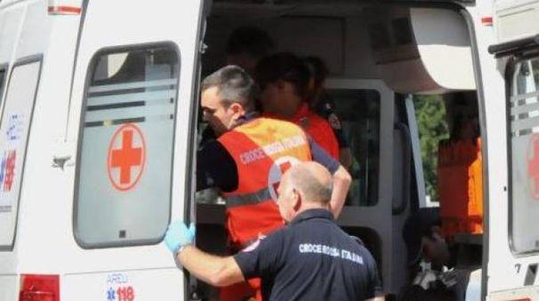Ambulanza durante un soccorso