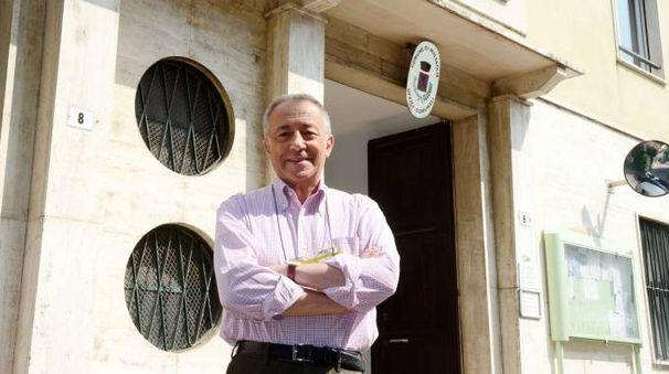 Il sindaco di Missaglia Bruno Crippa (Cardini)
