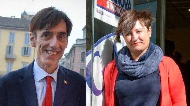 Al ballottaggio Carlo Gendarini e Sara Casanova