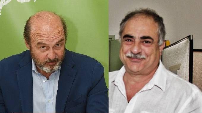 Maurizio Traglio e Mario Landriscina