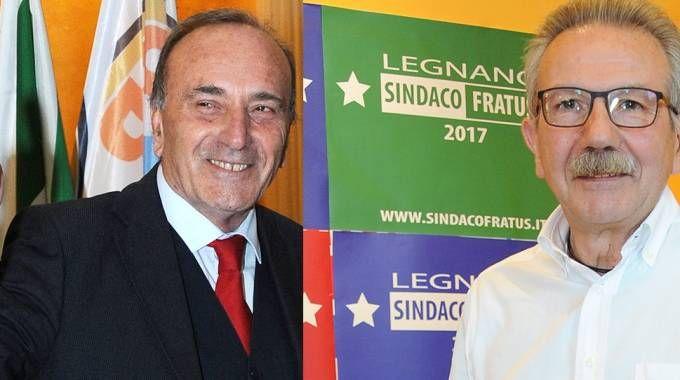 A sinistra Alberto Centinaio, a destra Giambattista Fratus (Studiosally)
