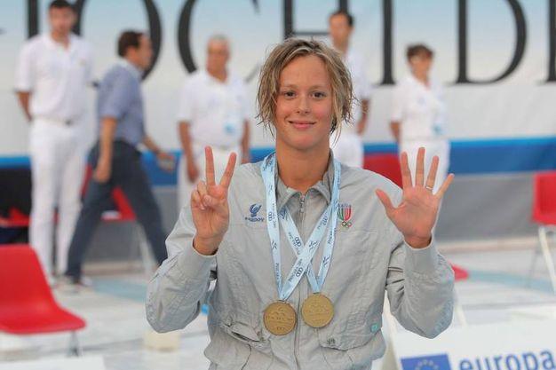 Nel 2009 ai Giochi del Mediterraneo (Zani)