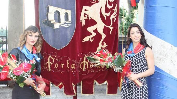 Da sinistra Valeria De Santis e Giovanna Marozzi